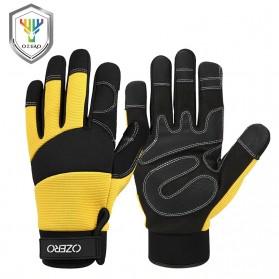 OZERO Sarung Tangan Kerja Sepeda Motor Mekanik Size L - O90 - Yellow
