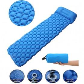 Encampment Kasur Matras Angin Inflatable Bed Air Cushion for Sleeping Bag - NH18 - Blue