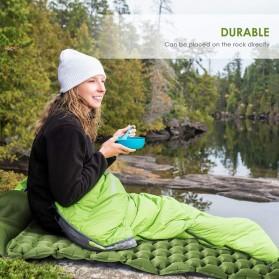 Encampment Kasur Matras Angin Inflatable Bed Air Cushion for Sleeping Bag - NH18 - Blue - 8