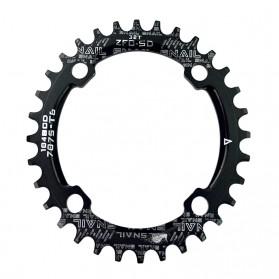 SNAIL Gigi Sprocket Sepeda Aluminium Round 32T - 104BCD - Black