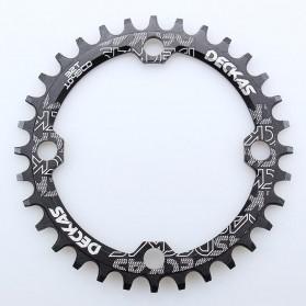 SNAIL Gigi Sprocket Sepeda Aluminium Round 32T - 104BCD - Black - 7