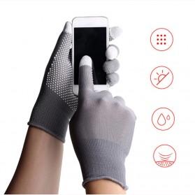 UNWE Sarung Tangan Touchscreen Smartphone Tablet Non-slip - UW149 - Black - 2