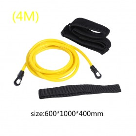 Obaolay Alat Latihan Renang Adjustable Swimming Training Resistance Band Safety Rope 4 Meter - OB100 - Yellow