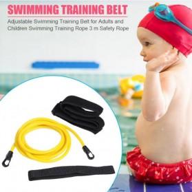 Obaolay Alat Latihan Renang Adjustable Swimming Training Resistance Band Safety Rope 4 Meter - OB100 - Yellow - 7