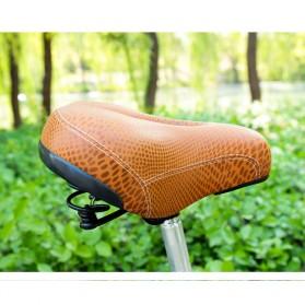VERDENERGIA Sadel Sepeda Comfortable Cushion Shock Absorption - SX-997 - Brown - 2