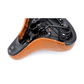 VERDENERGIA Sadel Sepeda Comfortable Cushion Shock Absorption - SX-997 - Brown - 5