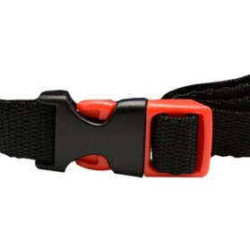 TaffSPORT Helm Sepeda Cycling Bike Helmet Visor Removable Lens - TT-31 - Black/Red - 5