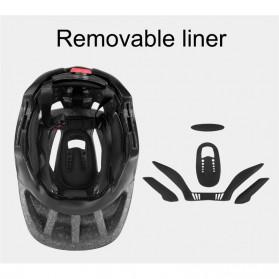KINGBIKE Helm Modular Sepeda Anak Full Face Bike Riding Helmet Protective Gear - TSTK05 - Red - 4