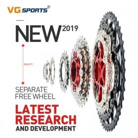 VG Sports Gigi Sprocket Sepeda Aluminium Round Ultralight 10 Speed 42T - VG72 - Silver - 3
