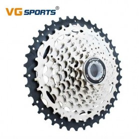 VG Sports Gigi Sprocket Sepeda Aluminium Round Ultralight 9 Speed 11-40T - VG72 - Silver