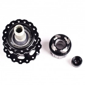 ARC Bicycle Hubs Sealed Bearing Freehub Front and Rear 32H D041SB-D042SB - MT-006F - Black - 4