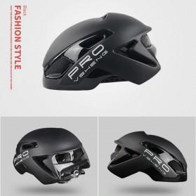 Mountainpeak VSHENG Series Helm Sepeda Cycling Bike Cap Integrally Molded - MTP01 - Black - 2