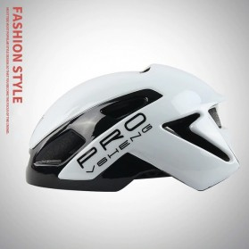 Mountainpeak VSHENG Series Helm Sepeda Cycling Bike Cap Integrally Molded - MTP01 - White
