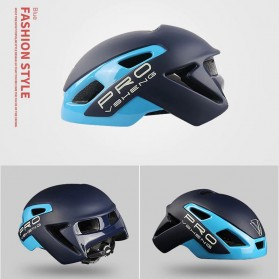 Mountainpeak VSHENG Series Helm Sepeda Cycling Bike Cap Integrally Molded - MTP01 - Blue - 2