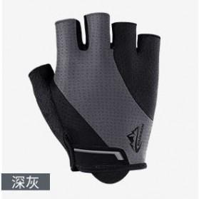 REXCHI Sarung Tangan Sepeda Half Finger Size XL - BF11 - Gray