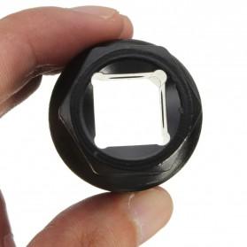 Kunci Crank Rantai Sepeda Wheel Spoke Spanner Wrench Repair Kit - MO1803 - Black - 5