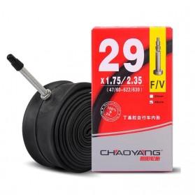 CHAOYANG Ban Dalam Sepeda Bicycle Inner Tire 29x1.75-2.35 33mm F/V - RMT1 - Black