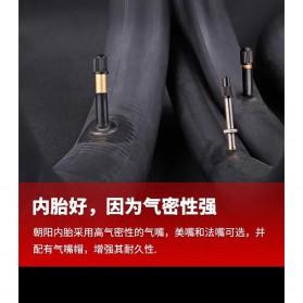 CHAOYANG Ban Dalam Sepeda Bicycle Inner Tire 27.5x1.75-2.1 33mm A/V - RMT1 - Black - 6