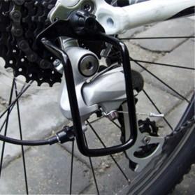 SportFit Protector Gear Box Sepeda Rear Derailleur Chain Guard - BA86 - Black - 4