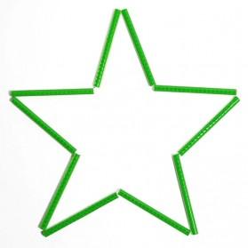 XC USHIO Stiker Reflektif Mini Velg Jari Ban Sepeda 12 Strip - B-0001 - Green - 4