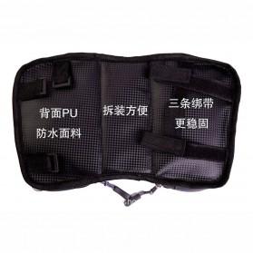 Green Travel Tas Sepeda Handlebar Smartphone Screen Touch Waterproof 6.2 Inch - GT01 - Black - 4