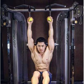 REIZ DIY Tali Strap Solid Grip Muscle Training Pull Up Serbaguna - LM600 - Black - 1