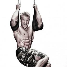 Diposlong Sling Strap Latihan Ab Pull Up Pintu Hanging Belt Chin Up Sit Up Bar Muscle Training - AS30 - Black - 4
