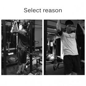 Diposlong Sling Strap Latihan Ab Pull Up Pintu Hanging Belt Chin Up Sit Up Bar Muscle Training - AS30 - Black - 6