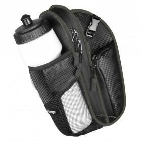 RBB-Bike Tas Sepeda Waterproof Storage Saddle Seat Cycling Tail Rear Pouch Bag - B081 - Black