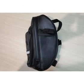 RBB-Bike Tas Sepeda Waterproof Storage Saddle Seat Cycling Tail Rear Pouch Bag - B081 - Black - 2