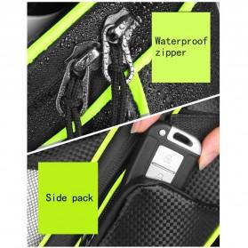RBB-Bike Tas Sepeda Waterproof Storage Saddle Seat Cycling Tail Rear Pouch Bag - B081 - Black - 8