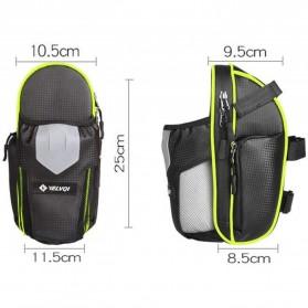 RBB-Bike Tas Sepeda Waterproof Storage Saddle Seat Cycling Tail Rear Pouch Bag - B081 - Black - 9