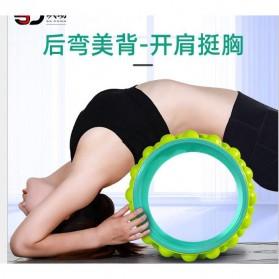 VKTECH Roller Wheel Alat bantu Yoga Gym Magic Ring Exercise - D433 - Green