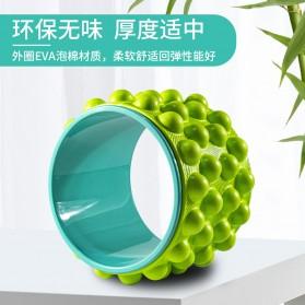 VKTECH Roller Wheel Alat bantu Yoga Gym Magic Ring Exercise - D433 - Green - 2