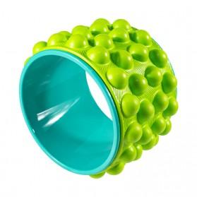 VKTECH Roller Wheel Alat bantu Yoga Gym Magic Ring Exercise - D433 - Green - 3