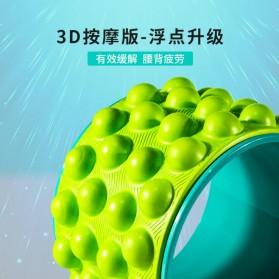VKTECH Roller Wheel Alat bantu Yoga Gym Magic Ring Exercise - D433 - Green - 4