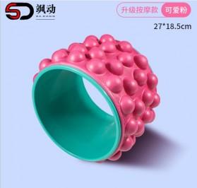 VKTECH Roller Wheel Alat bantu Yoga Gym Magic Ring Exercise - D433 - Green - 7