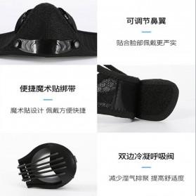 UTOTEBAG Masker Wajah Sports Masks Workout Exercise with Valves Ventilated - 311 - Black - 7