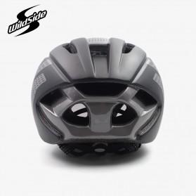 YOHOO-BIKE Helm Sepeda Cycling Bike Helmet Visor Removable Lens - TT-32 - Black/Red - 5