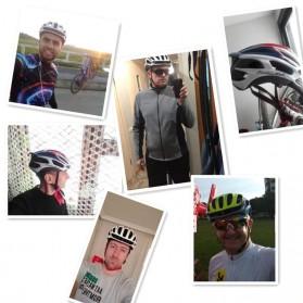 SCOHIRO Helm Sepeda Ultralight Cycling Bike Cap - STT01 - Black - 4