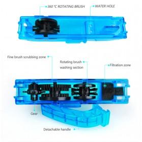 VG Sports Pembersih Rantai Sepeda Bike Chain Cleaner - XR-2 - Blue - 5