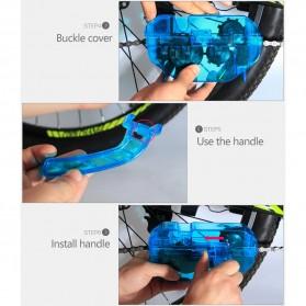 VG Sports Pembersih Rantai Sepeda Bike Chain Cleaner - XR-2 - Blue - 9