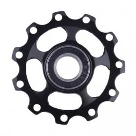 WasaFire Guide Wheel Transmission Rear Dial Wheel Bearing Tension 11T - SP336 - Black - 3