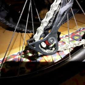 WasaFire Guide Wheel Transmission Rear Dial Wheel Bearing Tension 11T - SP336 - Black - 5