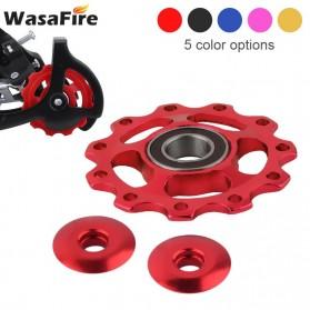 WasaFire Guide Wheel Transmission Rear Dial Wheel Bearing Tension 11T - SP336 - Black - 6