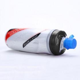 Garrafa Botol Minum Olahraga Sepeda Sport Bicycle Bottle 620ml - U0090 - Black - 4
