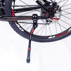 Easydo Standar Parkir Samping Sepeda Bicycle Side Kickstand 34-41cm - H11 - Black/Silver - 5