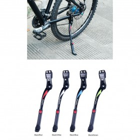 Easydo Standar Parkir Samping Sepeda Bicycle Side Kickstand 34-41cm - H11 - Black/Silver - 7