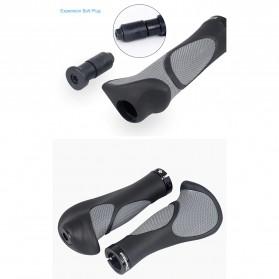 Deemount Grip Gagang Sepeda Ergonomic Handlebar Rubber - BPG-110 - Black - 2