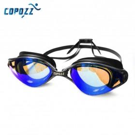 Kacamata Renang Anti Fog UV Protection - GOG-3551 - Black